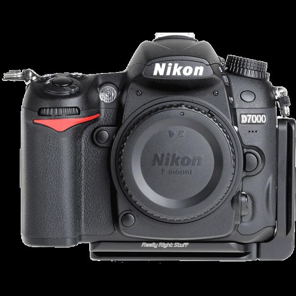 Really Right Stuff BD7000-L Set L-Winkel für Nikon D7000 ohne Batteriegriff