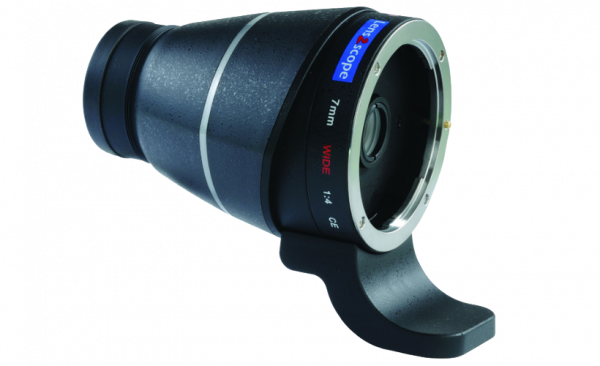 Lens2scope Okularvorsatz 7mm Wide für Canon