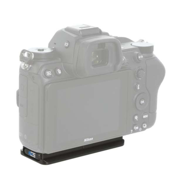 Kirk PZ-186 Schnellwechsel-Kameraplatte für Nikon Z6II & Z7II, Z5, Z6, Z7