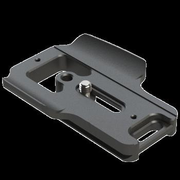 Kirk PZ-165 Schnellwechsel-Kameraplatte für Nikon D500 mit MB-D17