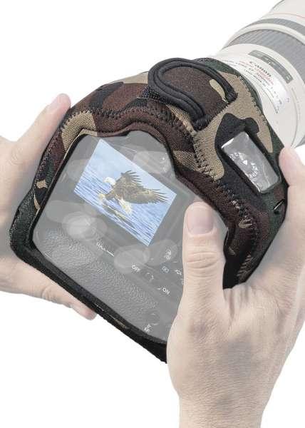 LensCoat™ BodyGuard™ Compact CB (Clear Back) mit Batteriegriff