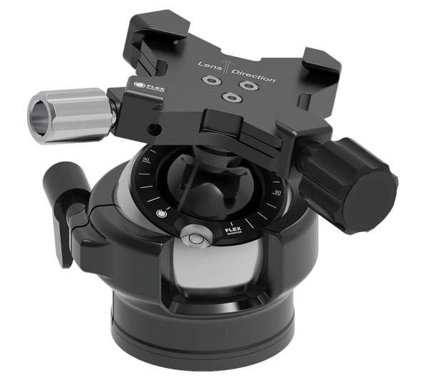 FLEXSHOOTER Mini 38 mm Schwalbenschwanz - der Reise-Kugelneiger