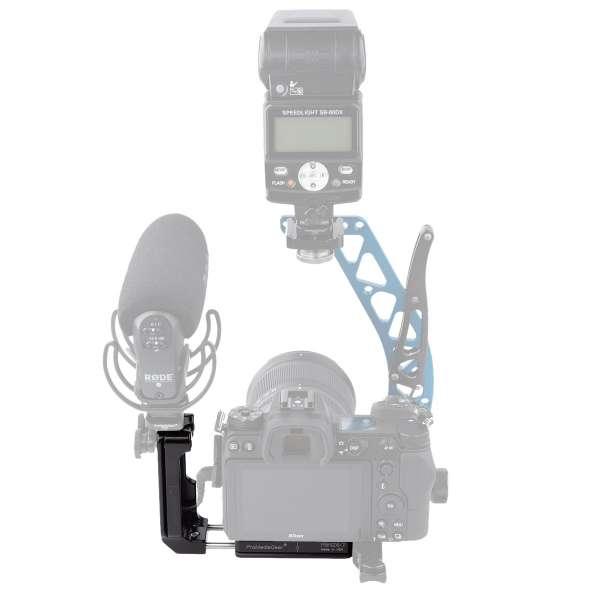 ProMediaGear PLNZ672-QD L-Winkel für die Nikon Z6 II/ Z7 II & FTZ-Adapter