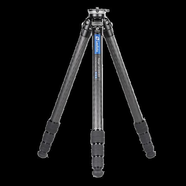 Leofoto LS-324 CEX Ranger Karbon Stativ mit integrierter Nivellierung