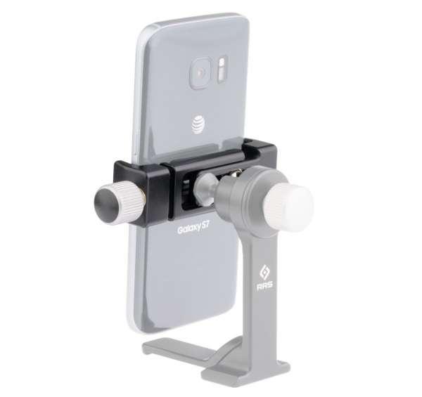 "Really Right Stuff Basic clamp 1/4: Smartphoneklemme mit 1/4"" UNC Fotogewinde"