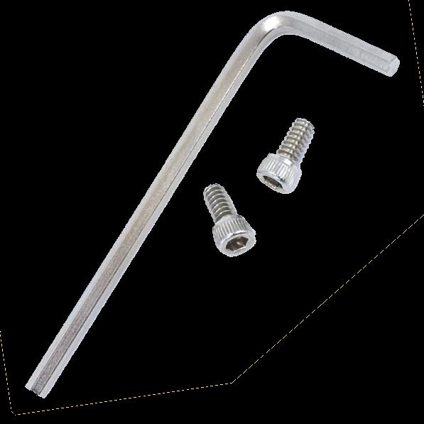 Kirk SSS-V2 Sicherheits-Stop-Schrauben Version 2 für Objektivplatten und Kameraplatten von Kirk