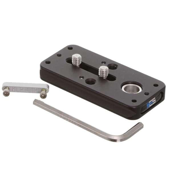 Kirk KLP-310-2NL Schnellwechselplatte mit QD-Aufnahme