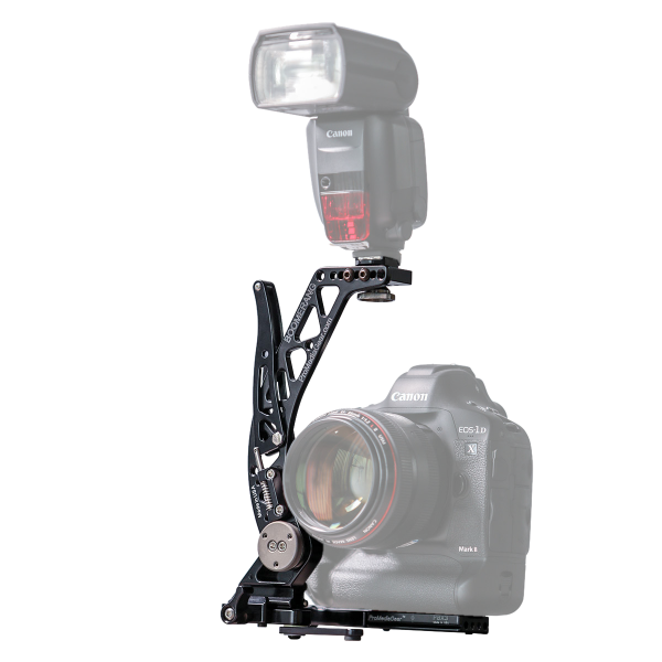 ProMediaGear Set Flash Bracket BBGV2 und Universalplatte PBX3