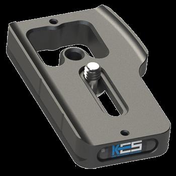 Kirk PZ-167 Schnellwechsel-Kameraplatte für Canon EOS 80D