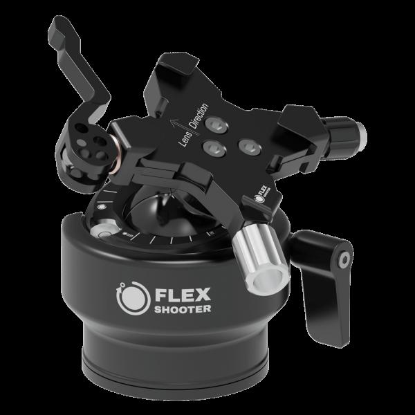 Flexshooter Pro Lever mit Hebelklemme - Black Edition