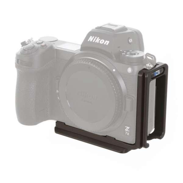 Kirk BL-Z7II Kamera-L-Winkel für Nikon Z7 II, Z6 II & Z5 mit QD-Aufnahme