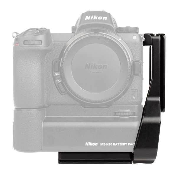 ProMediaGear PLNMBN10-QD L-Winkel für Nikon Z6 / Z7 &Z6 II / Z7 II mit MB-N10