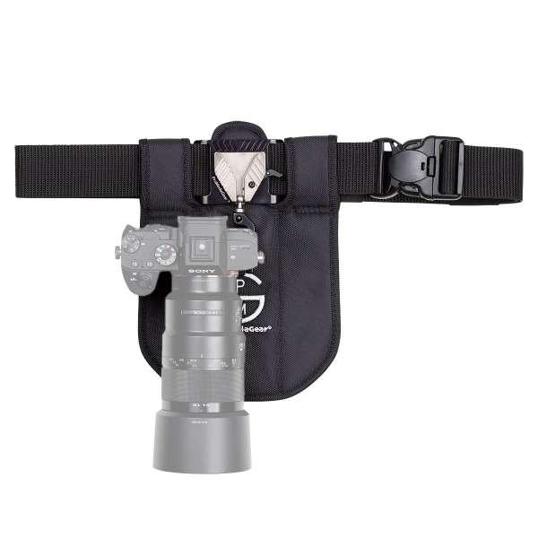 ProMediaGear SH1BK Kamera Holster für DSLR und Systemkameras - Single