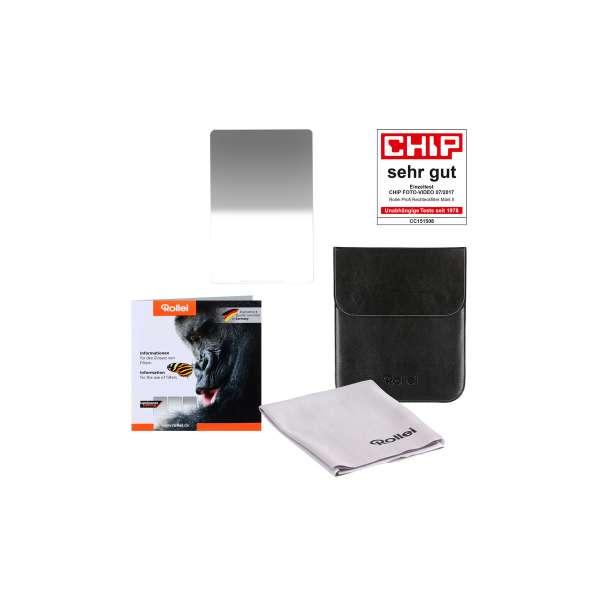 Rollei Profi Rechteckfilter Mark II - Weicher Grauverlaufsfilter 100 mm Soft GND