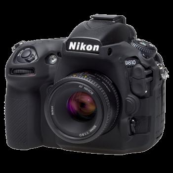 EasyCover Silikonschutzhülle für Nikon D810 - Schwarz