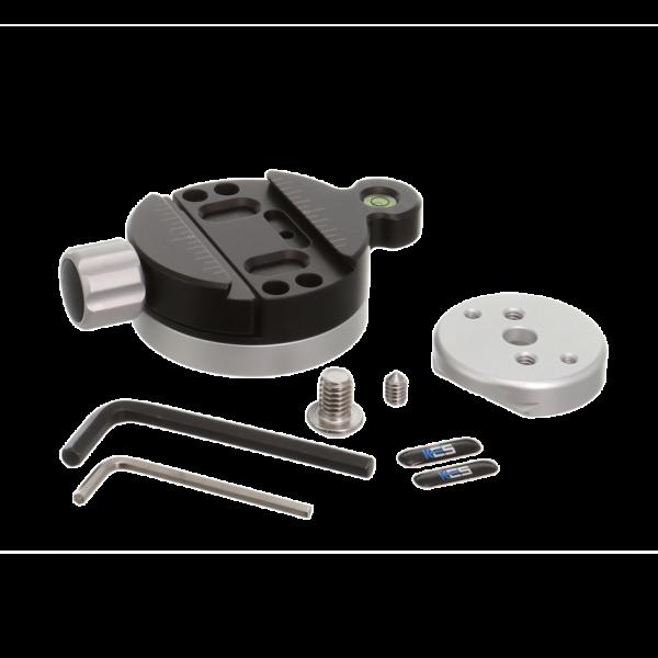Kirk TQR-1S Stativschnellwechselklemme inkl. kleiner Schnellwechselplatte