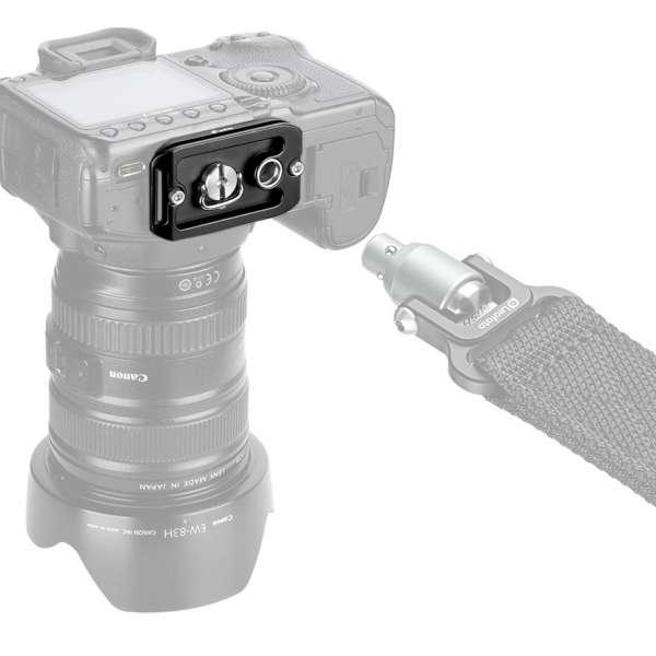 Leofoto NP-65 Universal-Schnellwechsel-Kameraplatte mit QD-Aufnahme