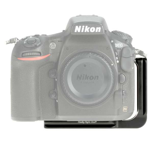 Really Right Stuff BD810-L- L-Winkel für Nikon D810 ohne Batteriegriff