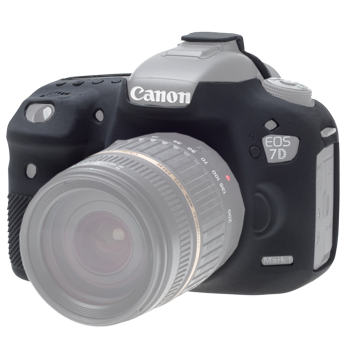 EasyCover Silikonschutzhülle für Canon 7D Mark II - Schwarz