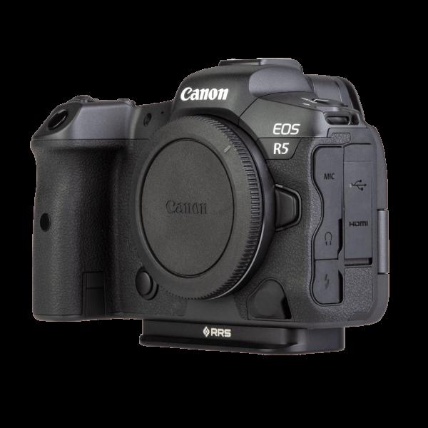 Really Right Stuff Canon EOS R5-R6-B: Schnellwechselplatte für Canon EOS R5 & R6