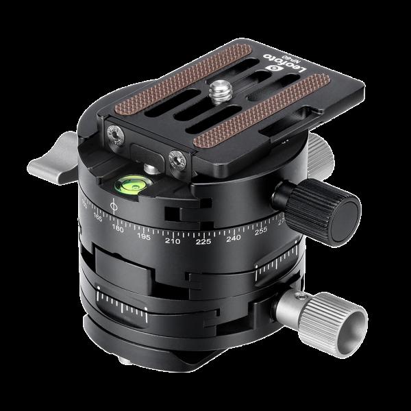 Leofoto G2 Getriebe-Panormaplatte mit NP-60 Stativplatte