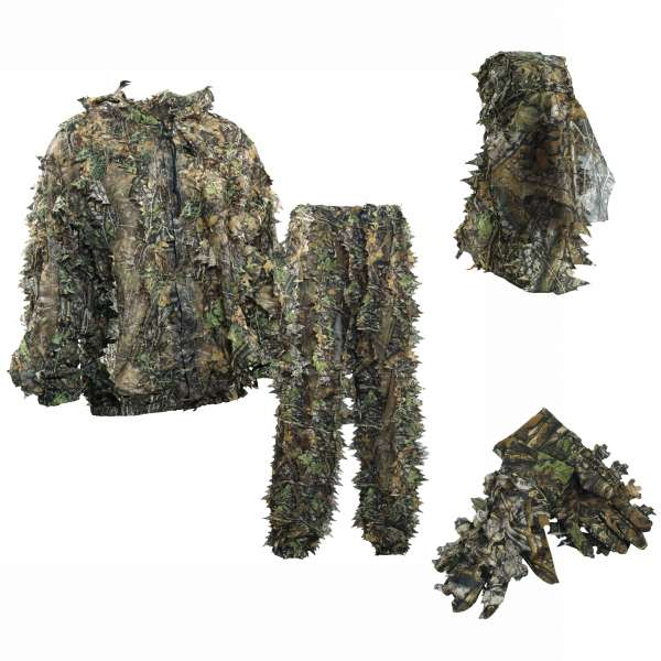 Deerhunter 3D Tarnsuit, Set aus Jacke, Hose,Handschuhen und Gesichtsmaske