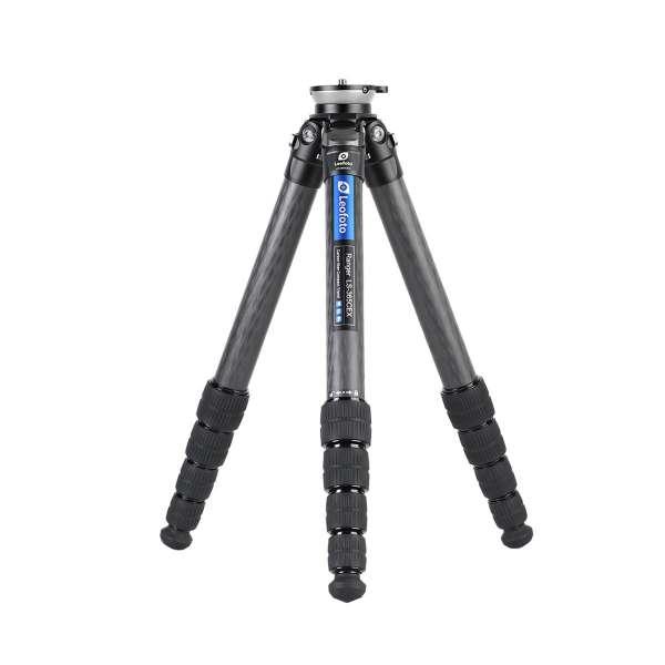 Leofoto LS-365CEX Ranger Karbon Stativ mit integrierter Nivellierung