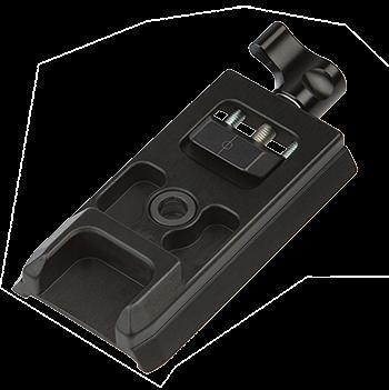 ProMediaGear PM501 Manfrotto 501PL / RC3 / RC5 auf 38 mm Schwalbenschwanz Adapter