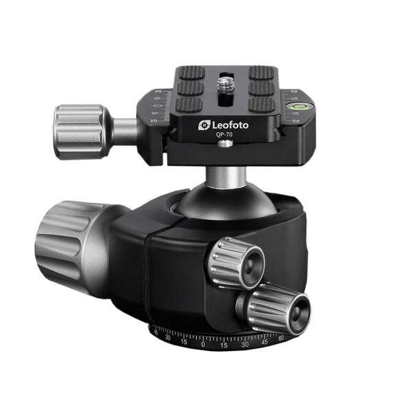 Leofoto LH-40 Kugelkopf mit QP-70 Kameraplatte