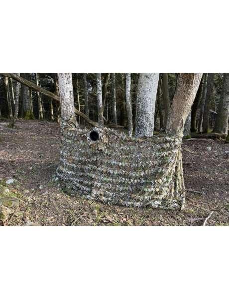 Tragopan 3D-Tarnnetz 1.5 x 3.5m mit Objektivtunnel
