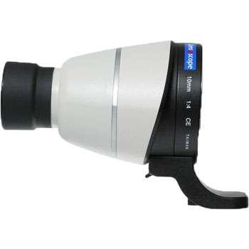 Lens2scope Okularvorsatz 10 mm für Canon EOS, weiß, Geradeeinblick