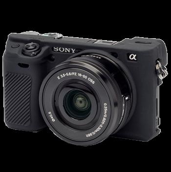 EasyCover Silikonschutzhülle für Sony A6300 - Schwarz