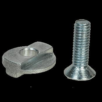 Adapter zur Montage von 38 mm Kupplungen auf Manfrotto Kugelköpfen MH05*M0 und Neiger MH055-M8