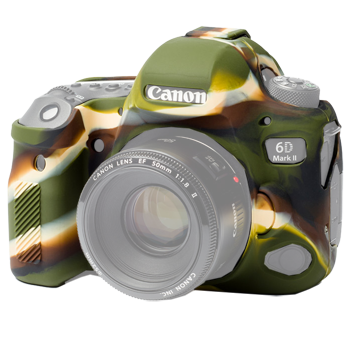 EasyCover Silikonschutzhülle für Canon 6D Mark II - Camouflage