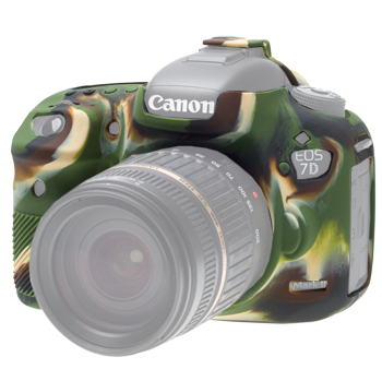 EasyCover Silikonschutzhülle für Canon 7D Mark II - Camouflage