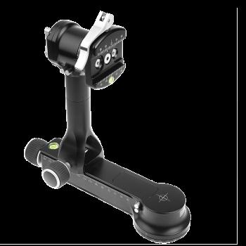 Really Right Stuff FG-02 LR: fluidgedämpfter Teleneiger mit seitlicher Aufhängung B2-LR II Klemmhebe