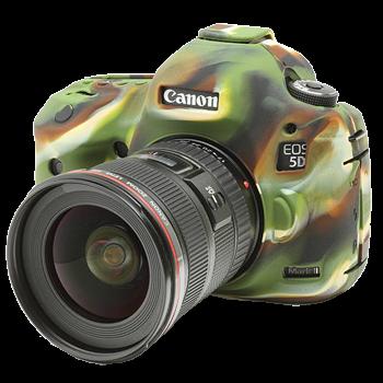 EasyCover Silikonschutzhülle für Canon 5D Mark III/ 5DSR / 5DS - Camouflage
