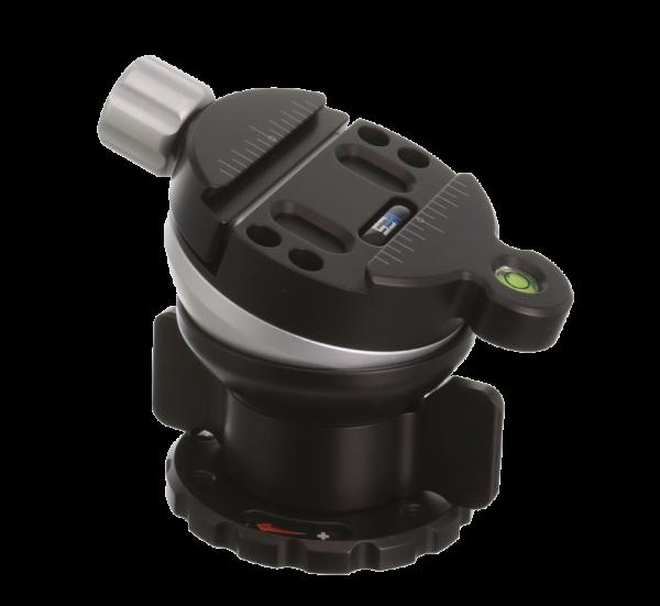 Kirk TLB-1 QRS Nivelliereinheit mit Schnellwechselklemme und Schnellwechselplatte (klein)