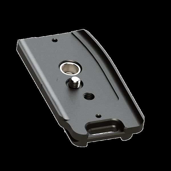 Kirk PZ-168 Schnellwechsel-Kameraplatte für Canon EOS 5D Mark IV mit QD-Aufnahme